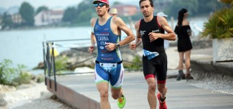 Campionati italiani aquathlon: Cavina 2° di categoria a Recco
