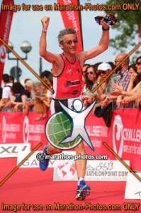 Luca Lanzoni all' arrivo del Challenge Rimini