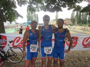 Marzocchi, Cavina e Santandrea al triathlon sprint di Parma