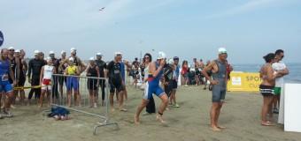 Santandrea e Cavina terzi al triathlon di Cervia