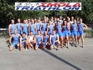 imola triathlon 31 agosto 2014 faenza - striscione