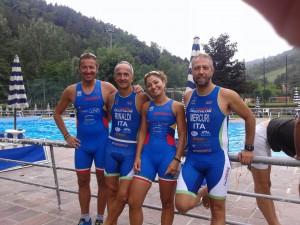 Imola Triathlon al triathlon di Palazzuolo