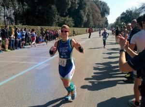 Federica Pirazzoli ai campionati italiani duathlon sprint