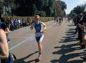 Daniela Martelli ai campionati italiani duathlon sprint