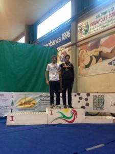 Luca Cavina 2° categoria S2 al triathlon Città di Asola