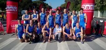 Triathlon Rimini: Cavina e D'Angeli sul podio