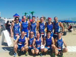 Imola Triathlon allo sportour Triathlon sprint di Cervia