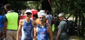 Benzi e Lucchesi al Triathlon Brasimone