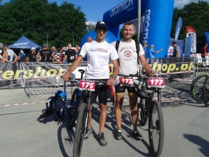 Francesco Bandini all'XTERRA Poland