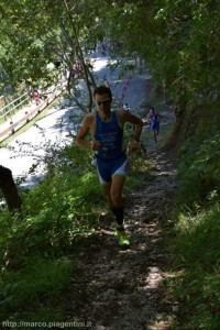 Francesco Bandini all'XTERRA Italy