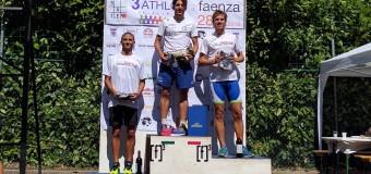Triathlon Faenza: Podio per Cavina e Galassi