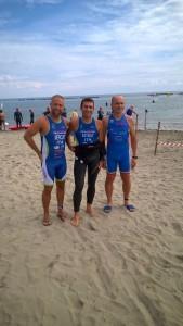 Mercuri, Gaddoni e Righini al triathlon olimpico IronDelta