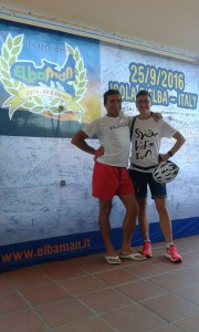 Gaddoni e Benzi all'Elbaman 2016