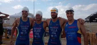 Campionati Italiani triathlon sprint: Imola 11° nella gara a squadre