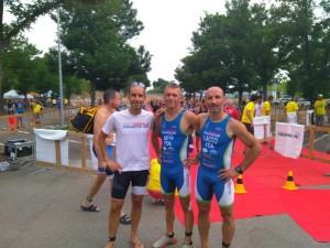 Cardinale, Vitale e Lacchini al triathlon Marconi