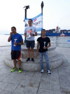 Fabio Galassi 3° assoluto al triathlon olimpico di Capodistria