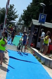 Francesca Benzi al Triathlon Brasimone