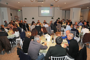 L'Imola Triathlon nella cena di fine anno all'Hotel Donatello