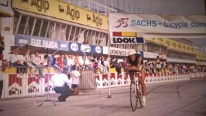 Mauro Crivellini nella frazione Bike