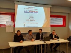 Conferenza stampa del duathlon sprint di Imola