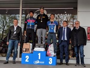 Podio Maschile duathlon sprint Imola