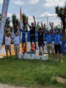 Triathlon Cervia, Cavina Luca secondo assoluto