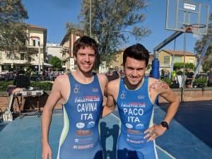 Triathlon Cervia - Cavina e Cerone