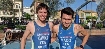 Triathlon di Cervia: Cavina 2° assoluto