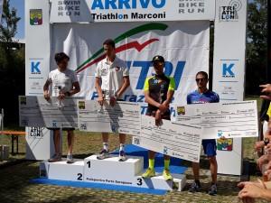 Fabio Galassi 4° assoluto al triathlon Marconi