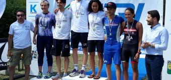 Triathlon Marconi: piogge di medaglie per l'Imola Triathlon