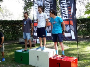 Luca Cavina 4° S2 al triathlon sprint Persiceto