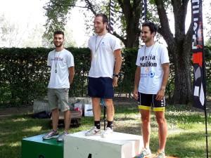 Luca Valentini 2° S1 al triathlon sprint Persiceto
