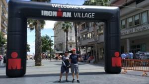 Angelini e Simoni all'Ironman 70.3 di Pescara
