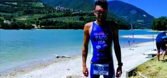 Triathlon sprint Serrapetrona: primo podio per Cerone