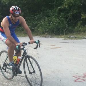 Mattia Santandrea al Sanniti Triathlon