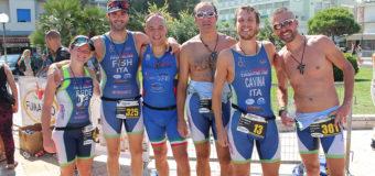 Triathlon Cesenatico: Pioggia di medaglie per l'Imola Triathlon