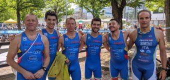 Triathlon Marconi: Angelini show nel caldo di Sasso Marconi