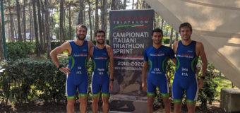 Camp. italiani triathlon sprint: Imola 10a nella gara a squadre