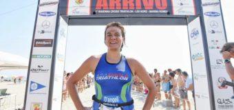 Cross Triathlon Ravenna: Giorgia D'Angeli campionessa regionale di cross triathlon